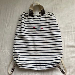 GAP STRIPED BEACH BAG / BACKPACK